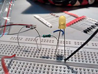 Diode- not conducting electricit