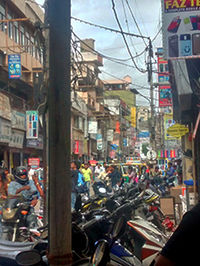 Streets of S.P.Road market